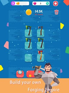 Merge Axe — Idle Blacksmith Master Mod Apk (Unlimited Gold + Diamonds) 6