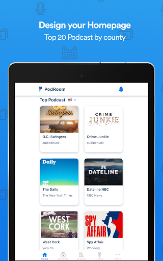 PodRoom: Podcast community & Social Network App