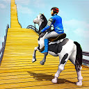 GT Horse Mega Ramp Parkour: Free Animal Stunt Game