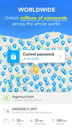 Free WiFi Passwords, Offline maps & VPN. WiFi Mapu00ae  Screenshots 6