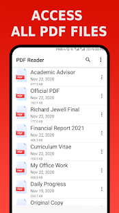 PDF Reader - PDF Viewer, eBook Reader Screenshot