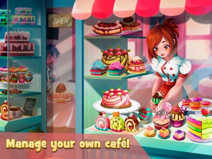 Dessert Chain: Café Waitress & Restaurant Chef Screenshot