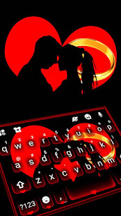 バレンタインアダルトラブキーボードのテーマ