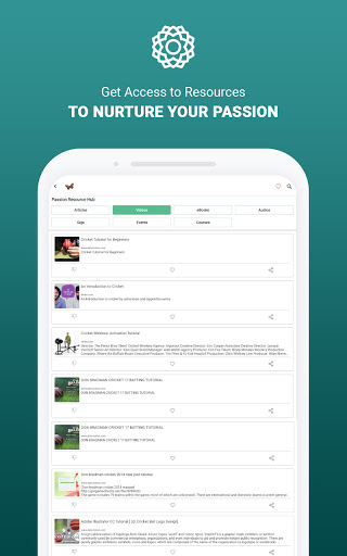 MeVero - Find & Follow Your Passion. modavailable screenshots 9