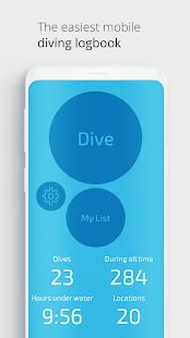 Dive Number-diving logbook and dive site map