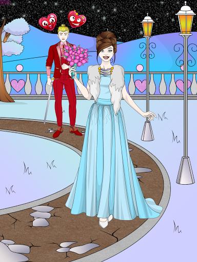 Wedding Coloring Dress Up - Games for Girls  screenshots 17