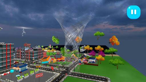 Tornado Rain and Thunder Sim  screenshots 1