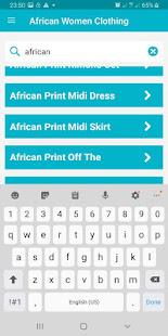 African Women Cloth Styles 9.0.5 Screenshots 4