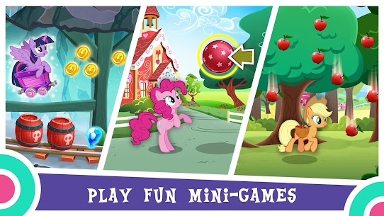 Download My Little Pony My Little Pony game Gameloft Android + mod 4