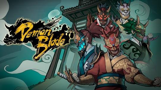 Demon Blade Mod Apk- Japanese Action RPG (God Mode) 8