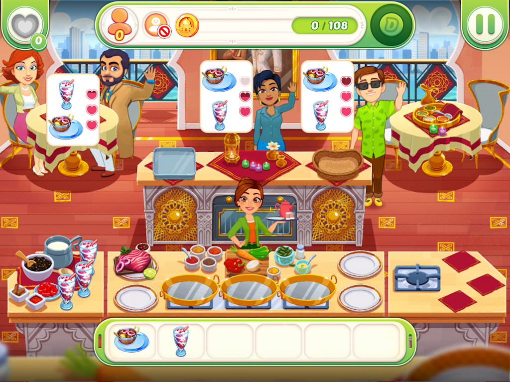 Delicious World - Cooking Restaurant Game poster 14