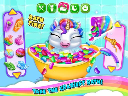 My Baby Unicorn 2 - New Virtual Pony Pet android2mod screenshots 14