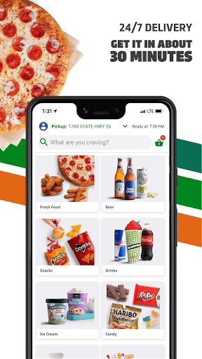 7NOW: Food & Alcohol Delivery 3.0.12 Screenshots 2