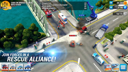 EMERGENCY HQ - free rescue strategy game 1.6.01 Screenshots 4