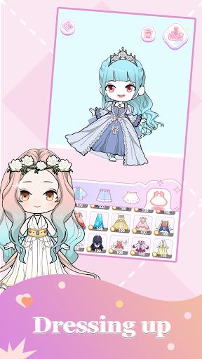 Vlinder Doll 2 - dress up games, avatar maker  screenshots 2