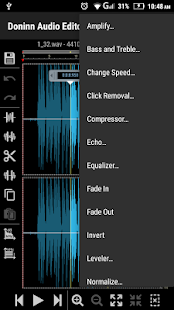 Doninn Audio Editor Screenshot