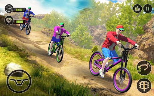Offroad BMX Rider: Mountain Bike Game Apkfinish screenshots 7