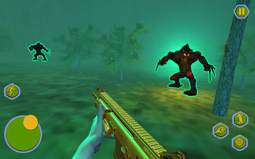 Werewolf Games : Bigfoot Monster Hunting in Forest  screenshots 1