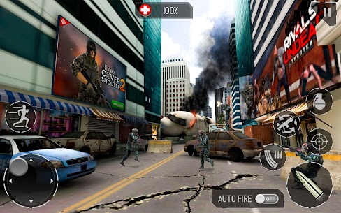Real Commando Fire Ops Mission Mod Apk (Unlimited Money) 6