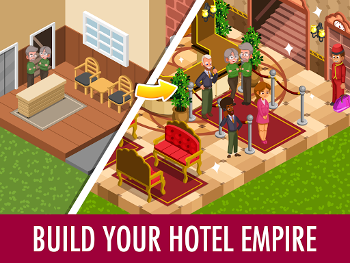 Hotel Tycoon Empire - Idle Manager Simulator Games 1.0 screenshots 1
