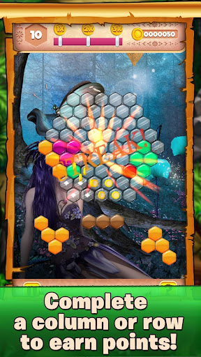 beautiful block puzzle - relaxing fairy tail game screenshot 3