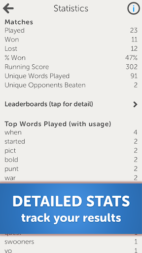 Letterpress - Word Game 5.3.2 screenshots 9