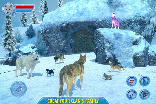 Arctic Wolf Sim 3D  screenshots 11