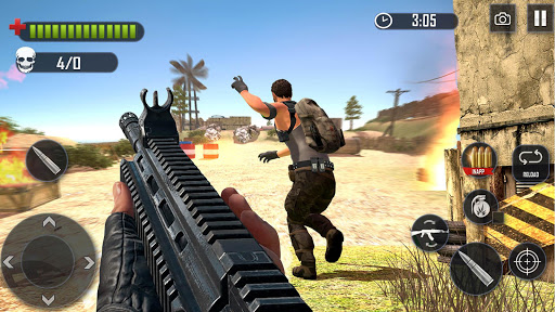 Battleground Fire Cover Strike: Free Shooting Game 2.1.4 screenshots 6