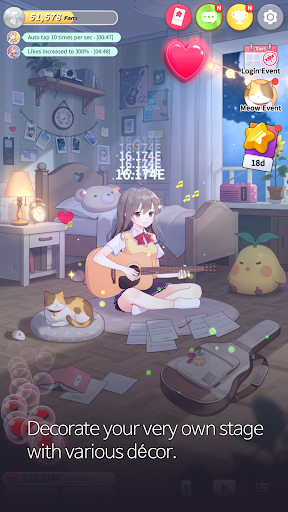Guitar Girl : Relaxing Music Game 2.3.0 screenshots 5