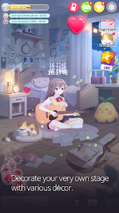 Девушка-гитарист: расслабляющая музыкальная игра