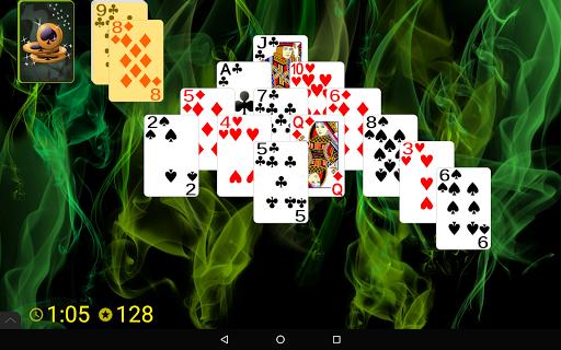 Pyramid Golf Solitaire screenshots 9