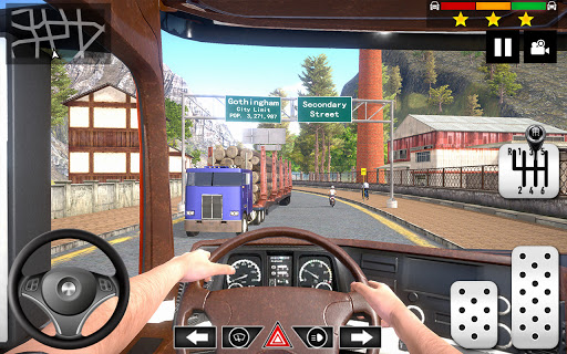 Cargo Delivery Truck Parking Simulator Games 2020 android2mod screenshots 2