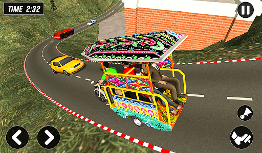 Chingchi Rickshaw Game:Tuk Tuk Parking Simulator screenshots 10