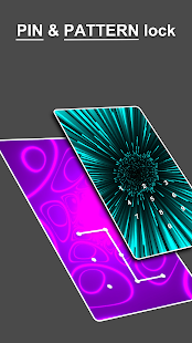 Color Lock screen - pattern lock