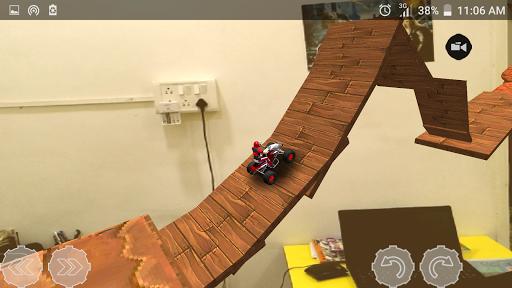 ar car drive : camera version screenshot 2