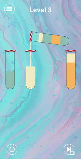 Impossible Water Sort 2D - Water Color Sort Puzzle  screenshots 9