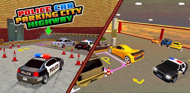 police car parking city highway: car parking games hack