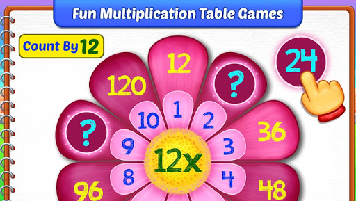Multiplication Kids - Math Multiplication Tables apkpoly screenshots 4