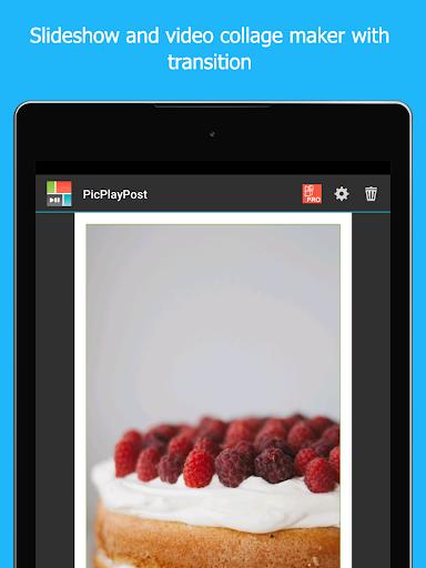 PicPlayPost Collage Maker, Slideshow, Video Editor 3.81.0_g_g Screenshots 7