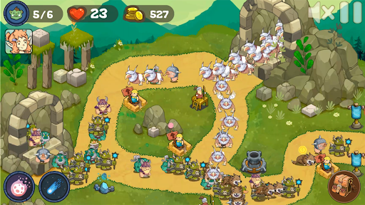 Tower Defense Realm King: Epic TD Strategy Element  screenshots 12