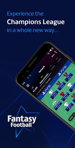 UEFA Champions League Games u2013 ft. Fantasy Football 6.1.2 screenshots 1