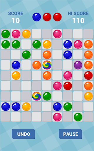 Color Lines: Match 5 Balls Puzzle Game 4.16 screenshots 1