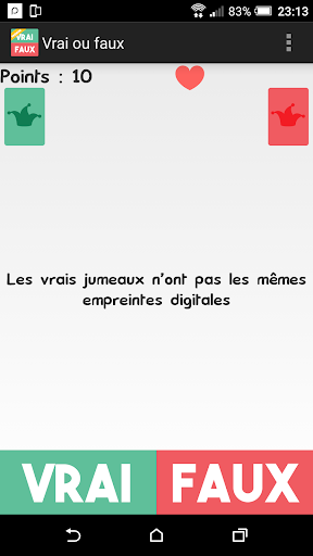 Vrai ou Faux ? android2mod screenshots 21