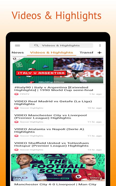 Football Pro: Soccer Scores, Football News, Videos  poster 15