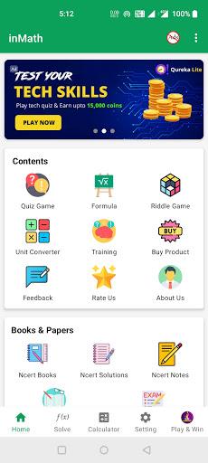 inMath: Math Solver, All Math Formula & Tricks android2mod screenshots 1