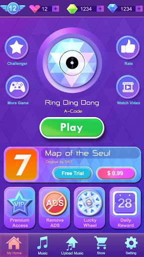 Music Piano Tiles - Music game screenshots 1