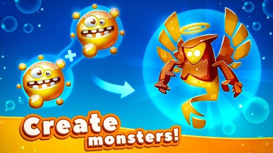 Tap Tap Monsters: Evolution Clicker Screenshot