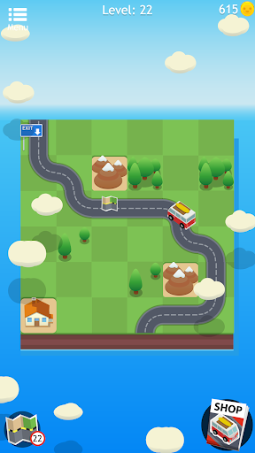 Road Trip FRVR - Connect the Way of the Car Puzzle 1.1.7 Pc-softi 3