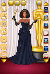 女優のドレスアップ-ファッションセレブ