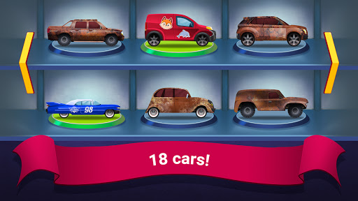 Kids Garage: Car Repair Games for Children 1.14 screenshots 2